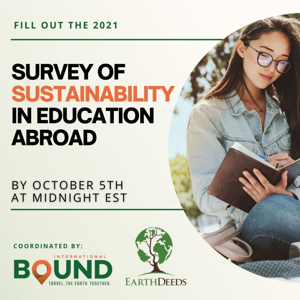 2021 Survey of Sustainability in Education Abroad